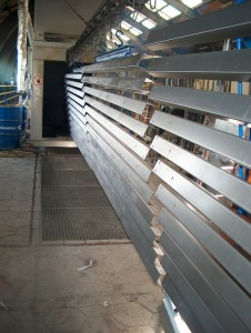 Powder coating galvanized steel