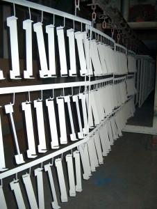 Serieproductie poedercoaten