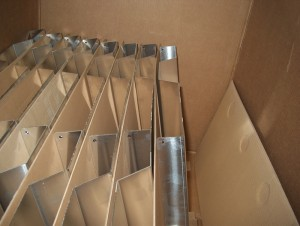 shipment after powder coating
