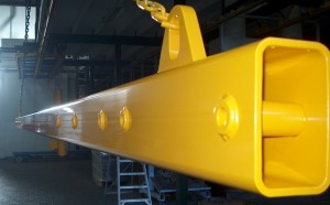 Powder coating of single unit orders